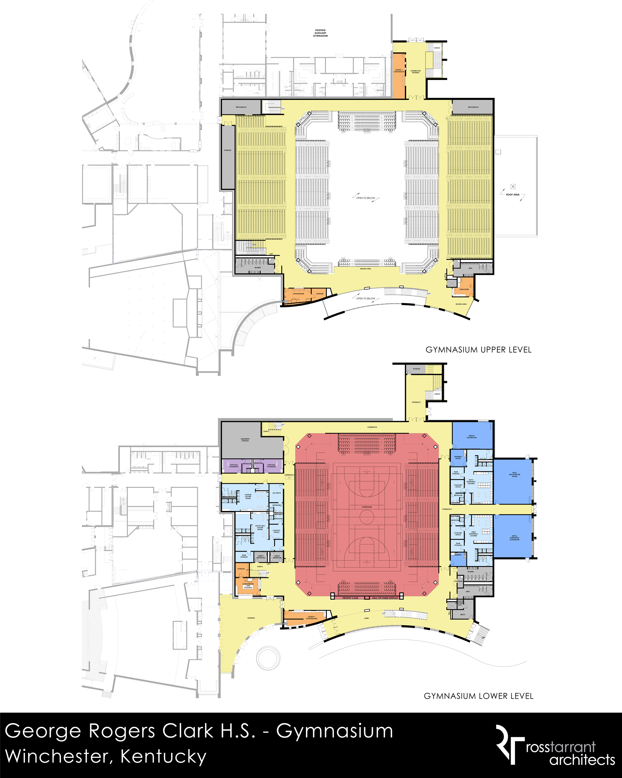 Available online designs for grc 39 s new athletic complex for House plans with gymnasium