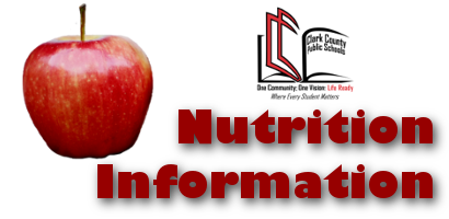 Nutrition Information image